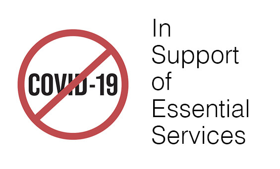 stop covid19 support essential services